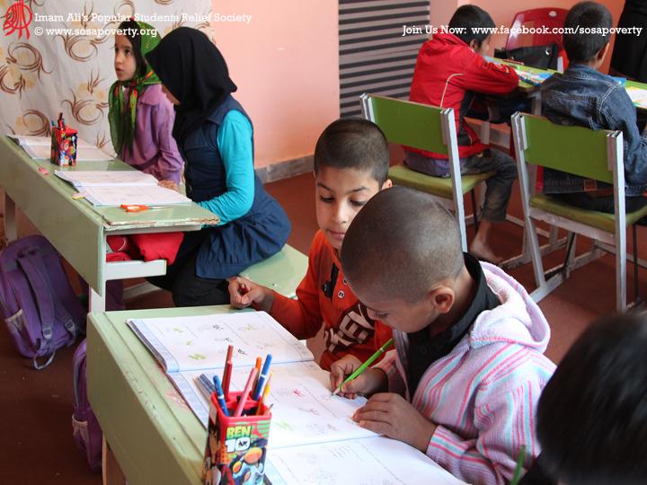 کودکان در خانه ایرانی ریاضی می خوانند
