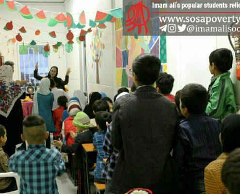 جشن شب یلدای کودکان و داوطلبان خانه ایرانی احمدآباد مستوفی