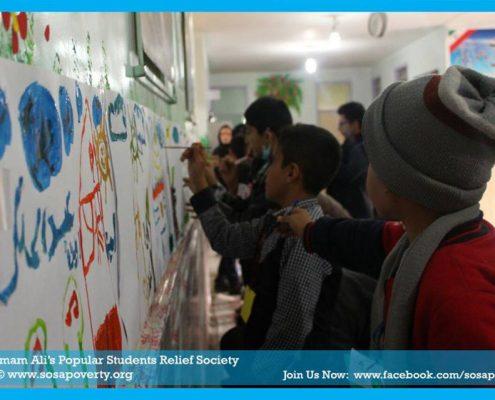 جشن بزرگ استقبال از شب یلدا در شهرک ویره (شهریار) با حضور بیش از 120کودک مدرسه ابتدایی