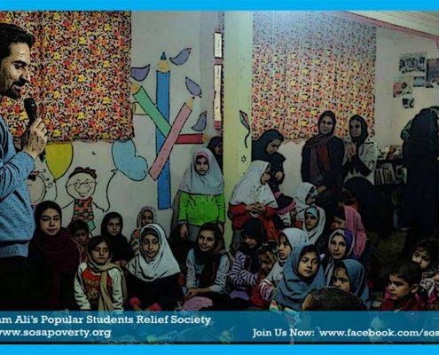 برگزاری جشن شب یلدا برای 60 کودک تحت پوشش خانه ایرانی و خانواده هایشان در جمعيت امام علي(ع)مشهد