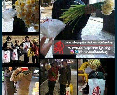 طرح یلدا در کوچههای فقر جمعیت امام علی در کرمان