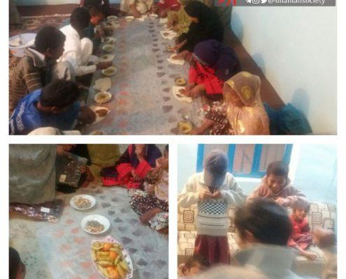 جشن شب یلدا و اهدای لباس گرم برای کودکان خانه ایرانی قصرقند