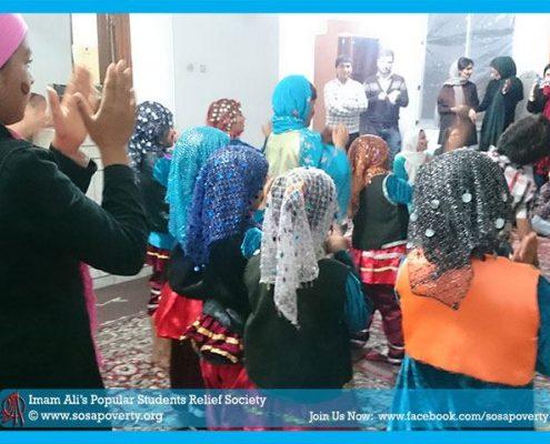 برگزاری جشن یلدا برای کودکان کار و محروم از تحصیل شهرستان آمل