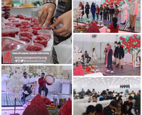 رگزاری جشن یلدا به همت اعضا و حامیان جمعیت امام علی بوشهر