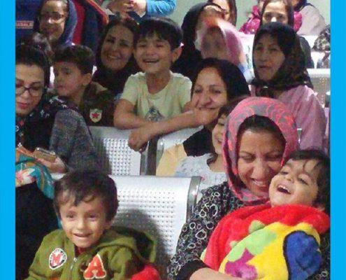جشن یلدا در بیمارستان های کودکان مفید و علی اصغ