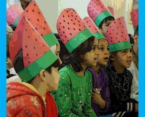 برگزاری جشن یلدا برای کودکان کار و محروم از تحصیل محله لب خط (شوش) تهران