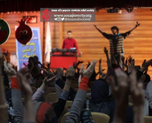 برگزاری جشن یلدا برای ۱۹۰کودک خانه ایرانی پاکدشت با همکاری خیریه التیام دانشجوهای علوم پزشکی ایران