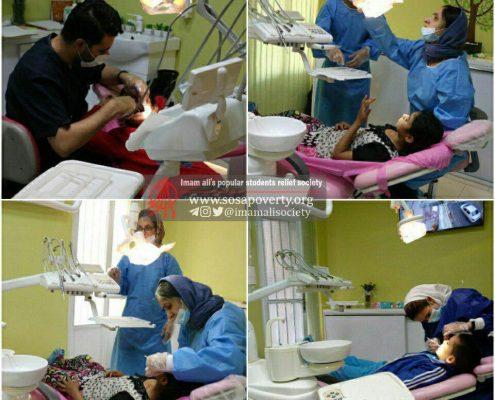 فعالیت داوطلبانه در خانه درمان جمعیت امام علی