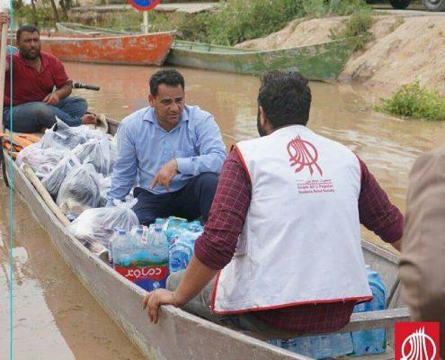 امدادرسانی سیل خوزستان بهار 98