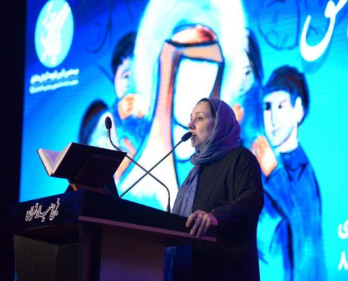 سخنرانی زهرا رحیمی در بیستمین آیین کوچه گردان عاشق