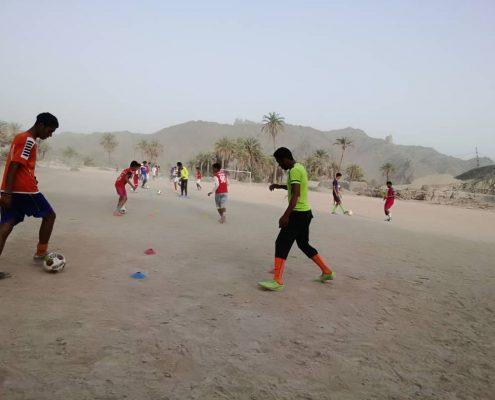 برگزاری لیگ فوتبال مناطق حاشیهای