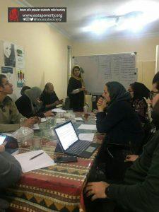 جلسه مدیریت بحران سیل