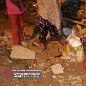 توزیع پکهای پیشگیری از ابتلا به کرونا در بین خانوادهها تحت حمایت جمعیت امام علی گرگان