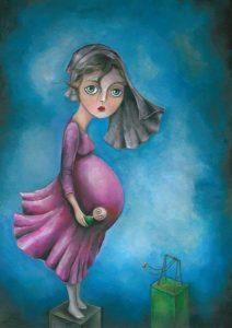 ازدواج کودکان - طراح عسل حاذقی