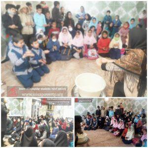 اقدامات خانه ایرانی ملک آباد جهت کاهش ویروس کرونا