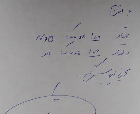 تحویل ۱۰۰ ماسک n95 و ۱۰۰ ماسک نانو به بیمارستان فیروزگر تهران توسط جمعیت امام علی