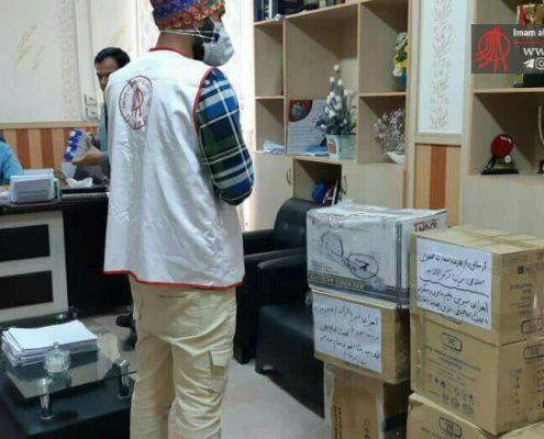 تحویل تجهیزات پزشکی به بیمارستان شهدای عشایر خرم آباد