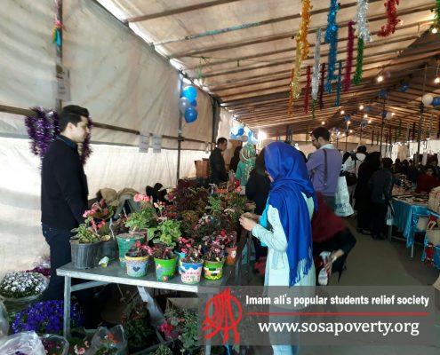 فروش گل در عرفه پاکدشت جشنواره بوی عیدی