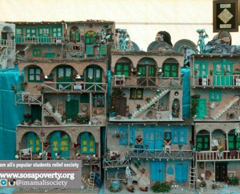 تابلوهای روستایی خانه ایرانی پاکدشت در بوی عیدی