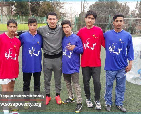 لیگ فوتبال پرشین پسران خانه ایرانی پاکدشت