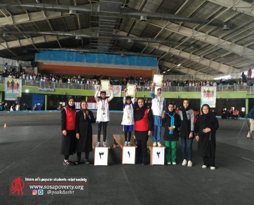 لیگ دومیدانی دختران خانه ایرانی پاکدشت