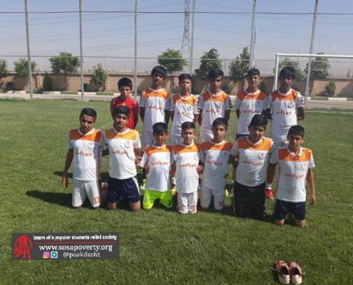 تیم فوتبال پسران خانه ایرانی پاکدشت