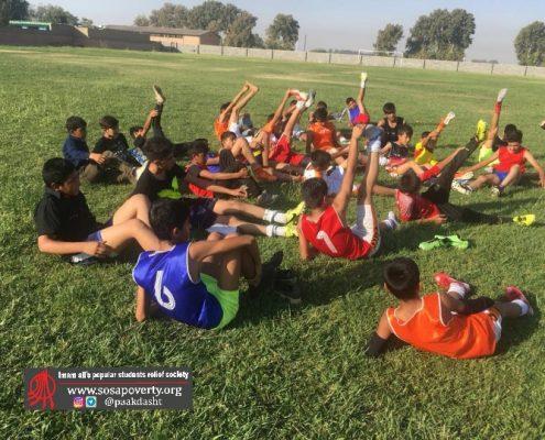 تیم خوتبال خانه ایرانی پاکدشت