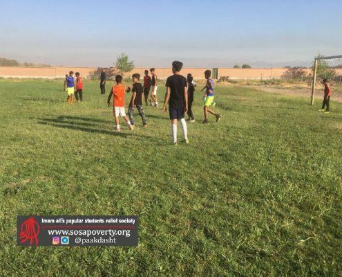 تمرینام تیم فوتبال خانه ایرانی پاکدشت
