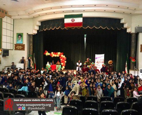 یلدا در کوچه های ققر در خانه ایرانی پاکدشت
