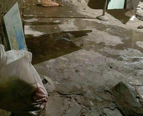 توزیع کیسه های طرح کوچه گردان عاشق در استان کرمانشاه