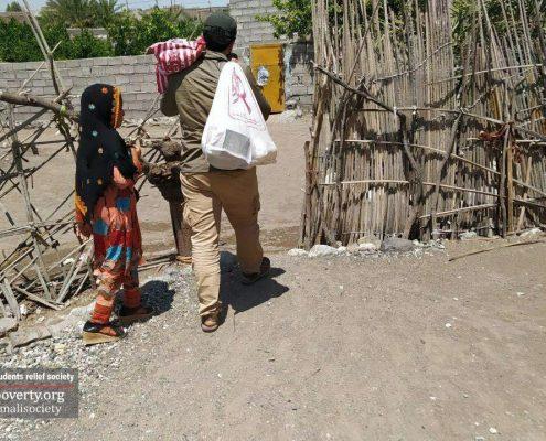 توزیع کیسه های طرح کوچه گردان عاشق در جنوب کرمان