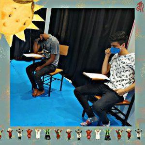جلسه اول تمرین «دور خوانی نمایشنامه» خانه علم لب خط