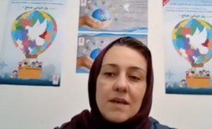 نشست روز جهانی صلح - سخنرانی سرکار خانم زهرا رحیمی، مدیرعامل جمعیت امام علی (ع)