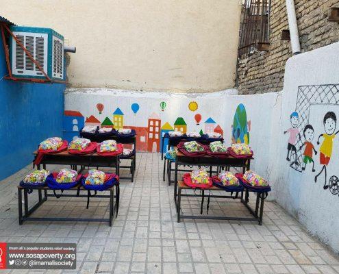 توزیع لوازم تحریر در طرح از مهر بگو