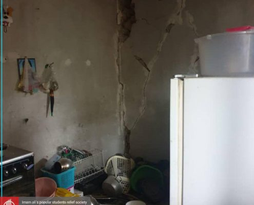 گزارش اول اعضای جمعیت امام علی از زلزله سی سخت