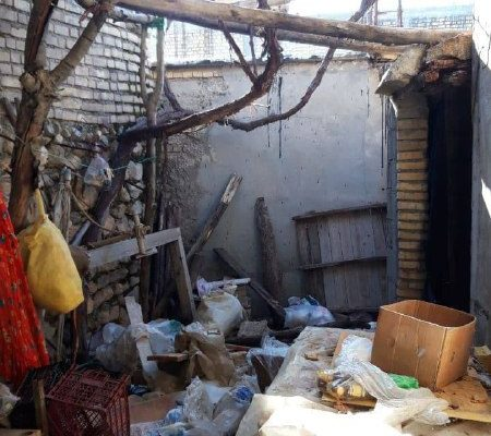 گزارش اعضای داوطلب اعزامی جمعیت امام علی(ع) به مناطق زلزلهزده سیسخت از وضعیت تخریب منازل